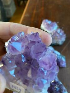 Premium High Grade Amethyst Druzy Cluster Pieces 100g to 150g approx. 6-8cm