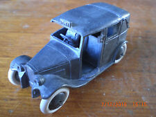 Dinky PRE WAR Taxi 36 G avec lisse moyeux & Plus mince axels