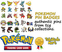 Pokemon Pins & Badges (Pin Badges) from TCG Collections etc, you choose!