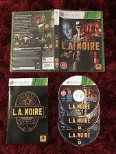 L.A. Noire-Complet Xbox 360 Game-Rockstar Games