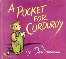 Don Freeman, POCKET FOR CORDUROY, HC/DJ, 1st Edition, Scarce
