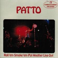 """Patto: """"Roll 'em Smoke 'em Put Another Line Out"""" + 7 Bonus Tracks (CD)"""