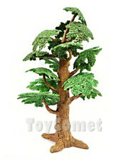 24cm Plastic Tree Model Diorama Prop Toy Dinosaur Animal Accessory