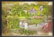 SINGAPORE 2015 UNESCO WORLD HERITAGE SITE SINGAPORE BOTANIC GARDEN SE-TENANT SET