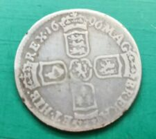 More details for 1696 william iii silver sixpence #671