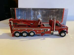 First Gear 1/50 Scale Kenworth T880 Rotator wrecker Tow Truck Viper Red 50-3315