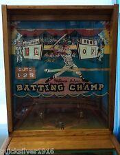 1961 Williams Batting Champ Pinball Machine