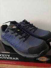 UK 14 EU 49 Dickies Liberty Safety Steel Toe Cap Work Trainer Shoe Grey Blue