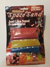 DuneCraft TriColor Space Sand red blue yellow 6 oz Usa science kit toy education