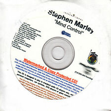 STEPHEN MARLEY Mind Control US 11-trk numbered/watermarked promo test CD