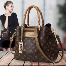 Vintage Handbags Crossbody Bags For Women Shoulder Bag Totes Brown Clutches Bag