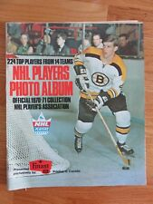 Official 1970-71 NHL PLAYERS Photo FINAST Sticker Album BOBBY ORR Never Used Exc