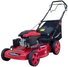 Self Propelled Lawn Mower Walk Behind Gas Powered PowerSmart 22 in. 3-in-1 196cc