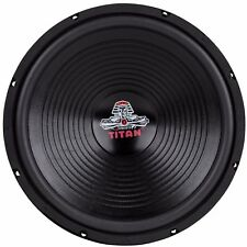 "NEW Ultra Bass 15"" Inch Replacement Home Subwoofer Woofer Speaker 4 Ohm / 8 Ohm"