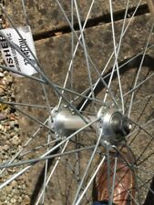"Front Wheel 27"". Alloy. Rigida Rim. 27x11/4"""