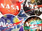 6 NASA Fanart Logo Space Shuttle Apollo SpaceX Elon Musk Vinyl Stickers BC
