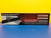 NEW Power Acoustik BUC-2 Universal License Plate Mount Rear View Back-Up Camera