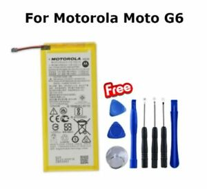 Original Genuine HG30 2810 mAh Internal Battery Replacement For Motorola Moto G6