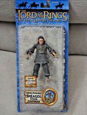 "HOBBIT LORD OF THE RINGS BATTLE 5 ARMIES 6"" SMEAGOL STOOR FISHERMAN LOTR ROTK"