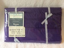 Wamsutta Full Flat Sheet Deep Purple, New in Package, Supercale Plus