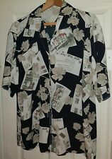 VINTAGE LADIES FLOATY SHIRT SIZE 18/ 20