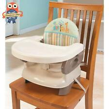 Baby Booster Chair Toddlers Feeding Tray Seat Folding High Portable Space Saver