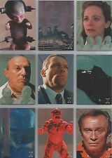 """X-Files Contact - """"Alien Visitations"""" 9 Card Foil Chase Set #A1-9"""
