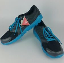 NEW Skechers Go Run 3 Mens 13 Running Shoes Charcoal Turquoise Lightweight