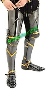 Medieval Knight Steel Full Leg Armor