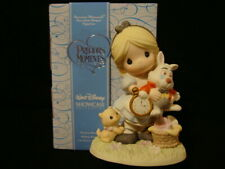 New ListingPrecious Moments-Disney-Alice In Wonderland-Its Never Too Late For Fun w/Friends