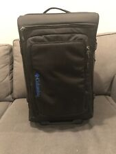 """Columbia 22"""" Laptop Roller bag Blue and Black"""