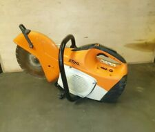 Stihl TS 410 petrol concrete cutter professional Diamond disc saw