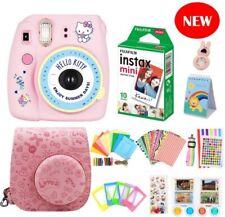 Fujifilm Instax Mini 9 Instant Camera HELLO KITTY Edition + 10 Shots&Accessories