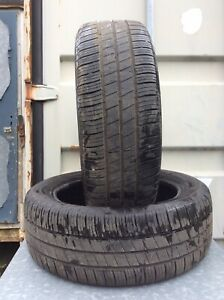 TWO 205-55-17 GOODYEAR  PART WORN TYRES