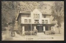 RP POSTCARD IDAHO SPRINGS CO/COLORADO B.P.O.E. ELKS CLUB LODGE HOUSE 1930'S