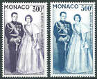 Monaco - 1959 - Couple Princier - PA 71/72 - Neufs** - MNH