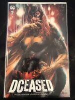 DCeased 3 * NM+ * Jay Anacleto Unknown Comics Batgirl Variant Trade DC Batman 🔥