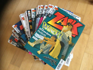 ZACK-Magazin Nr. 2 - 151 * August 1999 -Januar  2012 *Mosaik* TOP36 Stück/Liste