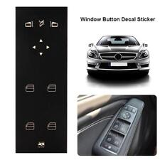 Car Window Switch Button Repair Stickers for Mercedes-Benz W204 C250 C300 C350
