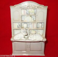 """HOME BUDDIES - THE STUDY By Simson Giftware West Highland Terriers 7""""H Figurine"""