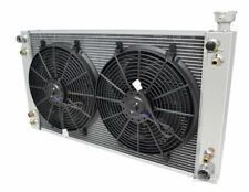 """3 Row RS Champion Radiator W/ 2 14"""" Fans for 1988 - 1995 C/K Series Pickup"""