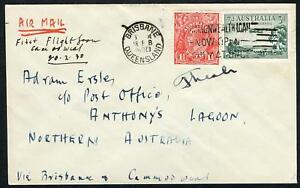 19 Feb.1930 (AAMC.152a) Camooweal - Anthonys Lagoon flown cover carried by A.A.S