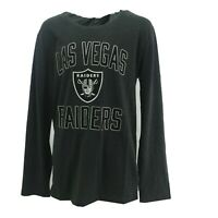 Las Vegas Raiders Official NFL Kids Youth Size Hooded Long Sleeve Shirt New Tags