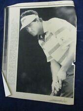 1989 PGA Steve Pate Bank of Boston Classic 10th green Vintage Wire Press Photo