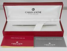 CARAN d'ACHE CdA MADISON II Silver Plated Ballpoint Pen (used)