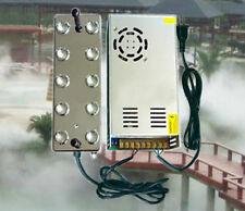 220V 10 head Ultrasonic mist maker fogger humidifier w/ transformer