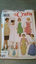 Simplicity Apron Retro Pattern 5961 One Size 1950's Classic Heart Pockets Uncut