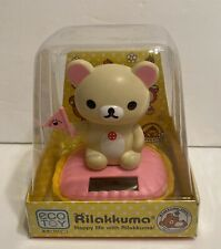 Solar Dancing Rilakkuma Bear Bobble Toy USA Seller!!
