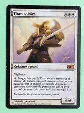 MTG MAGIC Carte TITAN SOLAIRE Sun Titan 324/350 Edition 12 2012