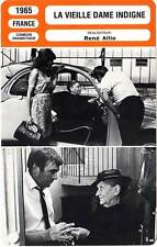 FICHE CINEMA : LA VIEILLE DAME INDIGNE Victor,Malka,Allio1965 Shameless Old Lady